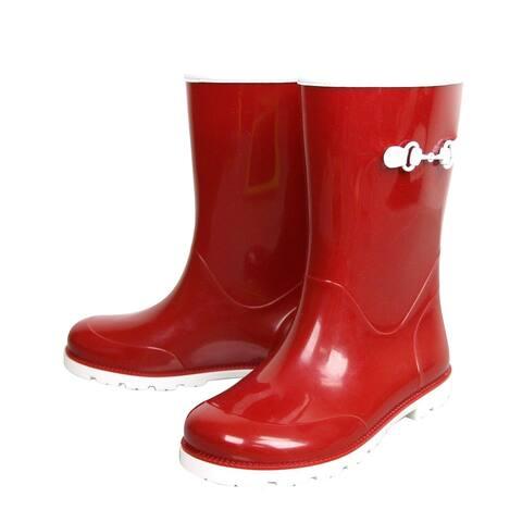 Gucci Kids Childrens Rain Boot With Horsebit 285287 285288