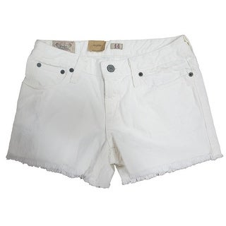 Link to Polo Ralph Lauren Girl's Denim Jean Shorts Frayed Hem Kids Clothing Similar Items in Boys' Clothing