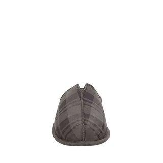 Dearfoams Mens STITCH Fabric Closed Toe Slip On Shoes