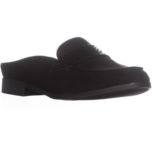 naturalizer Mattie Mule Flat Loafers, Black
