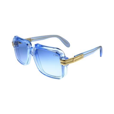 Cazal Legends Cazal 607 065BSG Unisex Crystal Blue Frame Blue Gradient Lens Sunglasses