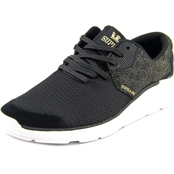 6e01aea6a9d2 Shop Supra Noiz Women Black Gold- White Sneakers Shoes - Free ...