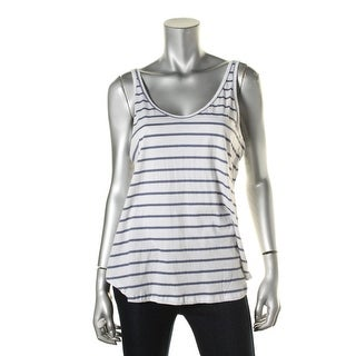 Nation LTD Womens Tank Top Striped Scoop Neck