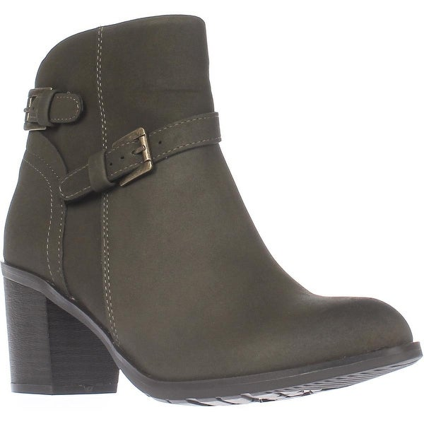 AR35 Peyton Ankle Boots, Olive - 7 us