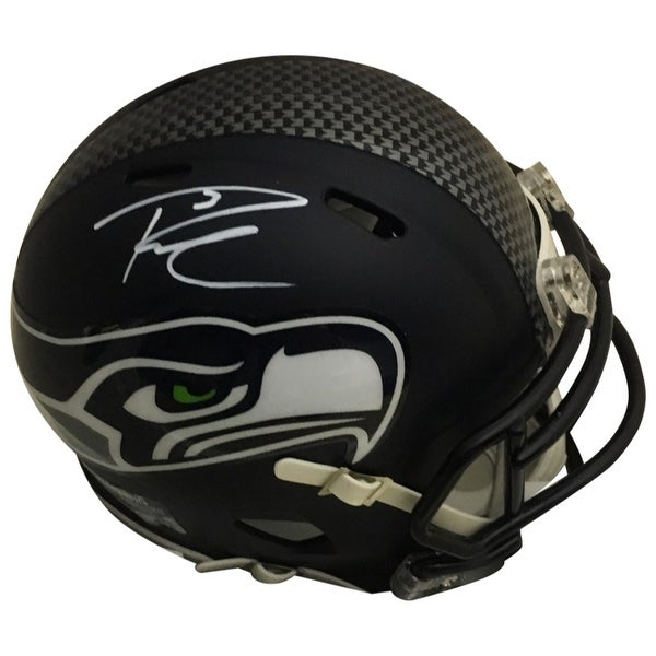 217fb7bbf Shop Russell Wilson Autographed Seattle Seahawks Signed Football Mini  Helmet PSA DNA COA - Free Shipping Today - Overstock.com - 18263636