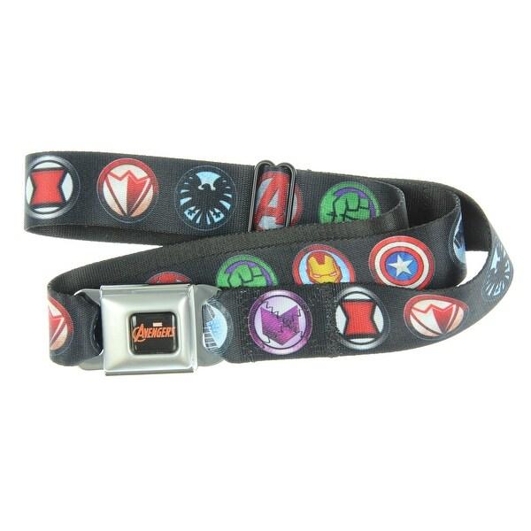 Marvel Avengers Seatbelt Belt-Holds Pants Up