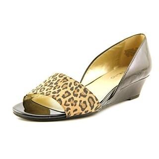 Bandolino Gerritsen Open Toe Synthetic Wedge Sandal