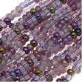 Czech Seed Beads Mix Lot 11/0 Lilac Purples 1/2 Hank - Thumbnail 0