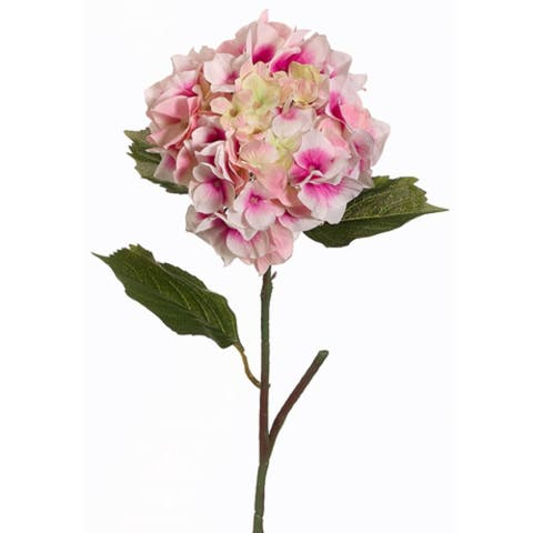 Pack of 12 Pink Hydrangea Flower Artificial Floral Craft Sprays 23""