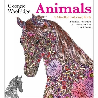 St. Martin's Books-Animals, A Mindful Coloring Book