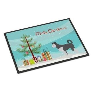 Carolines Treasures BB8459MAT Pumi Christmas Indoor or Outdoor Mat - 18 x 27 in.
