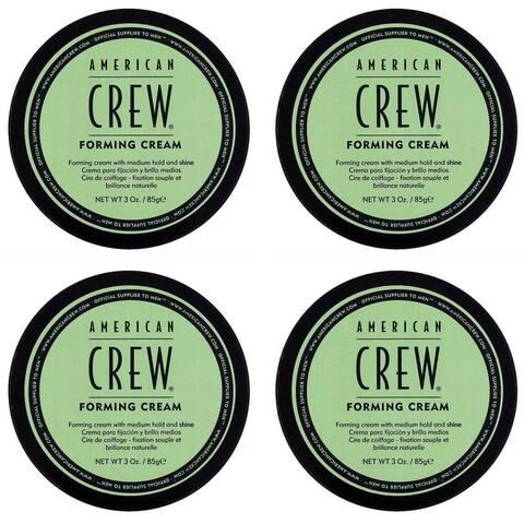 American Crew Forming Cream 3 Oz (Pack of 4)