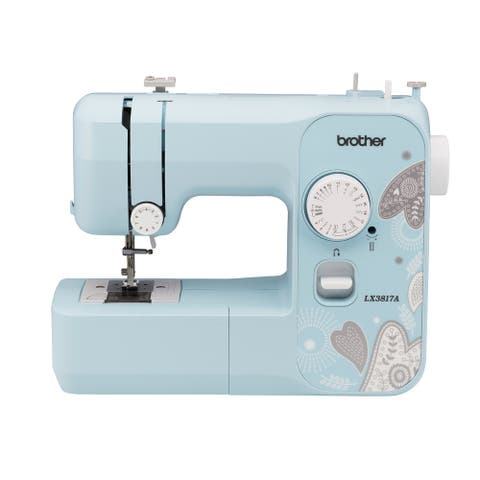 Brother LX3817A 17-Stitch Full-size Aqua Sewing Machine Refurbished