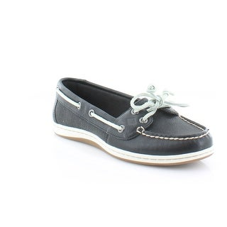 Sperry Top-Sider Firefish Core Women's Flats & Oxfords Black/White