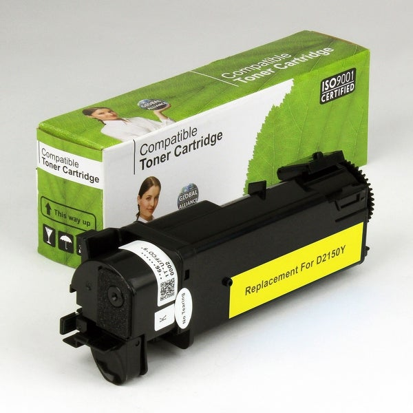 Value Brand replacement for Dell 2150CN Yellow Toner (2,500 Yield)