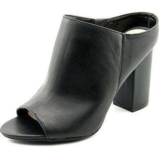 Bar III Matilda Women Black Mule Slides