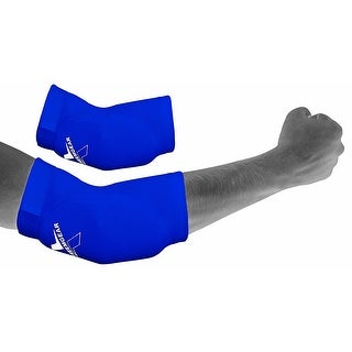 Adjustable Elbow Brace Support Elastic Wrap Pain Relief Pad Protector WRP2 - Blue