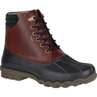 Sperry Top-Sider Men's Avenue Duck Boot Black/Amaretto Leather