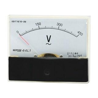 AC 0-450V Rectangle Panel Analog Voltmeter Voltage Meter 44L1