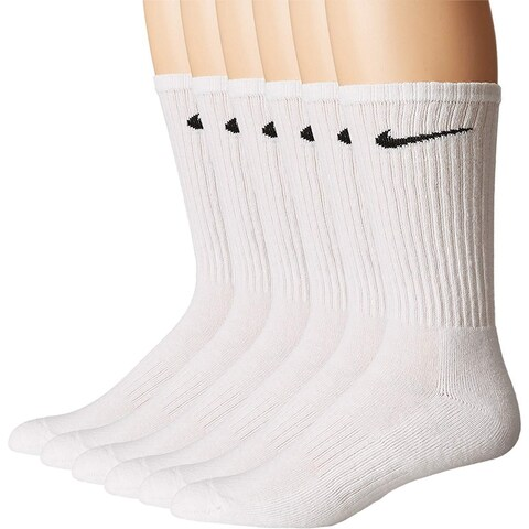 Nike Performance Cotton Cushioned Crew Socks 6 Pairs SX5171