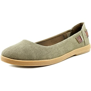 Blowfish Gertrude Women Round Toe Canvas Brown Flats