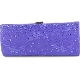 Lulu Townsend Kiwi Clutch Women Synthetic Blue Evening Bag NWT
