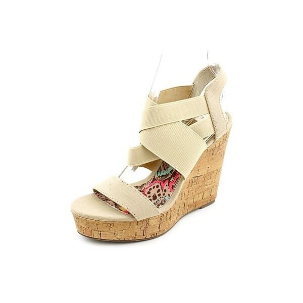Madden Girl Womens Eastt Open Toe Casual Platform Sandals