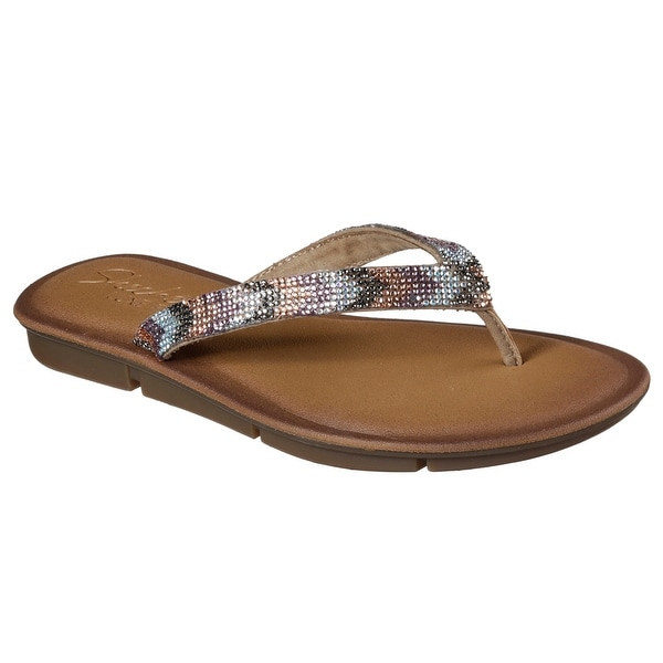 Skechers 38965 TPMT Women's INDULGE 2-GLITZ AND GLAM Sandal