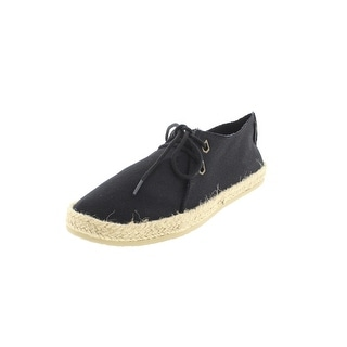 Volcom Womens Uptown Canvas Espadrille Casual Shoes