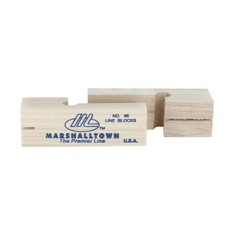 Marshalltown Wood Line Block