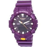 Casio Men's G-Shock GA800SC-6A Purple Silicone Quartz Sport Watch