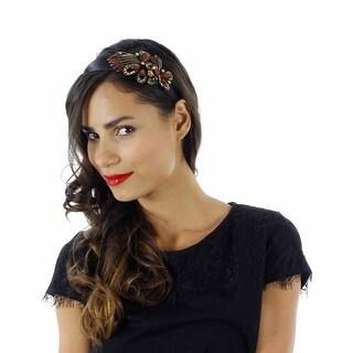 Bayou Beauty Rhinestone Butterfly Headband