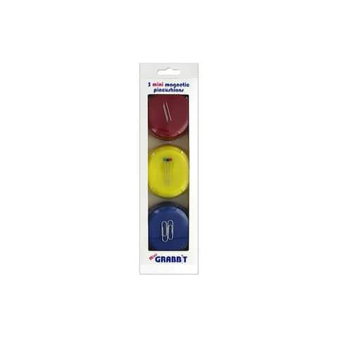 Blue Feather Grabbit Magnetic Pincushon Mini R/Y/B