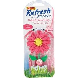 REFRESH Pink Daisy Air Freshener