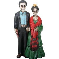 Summit Collection 9109 Day of the Dead Artist Couple Figure