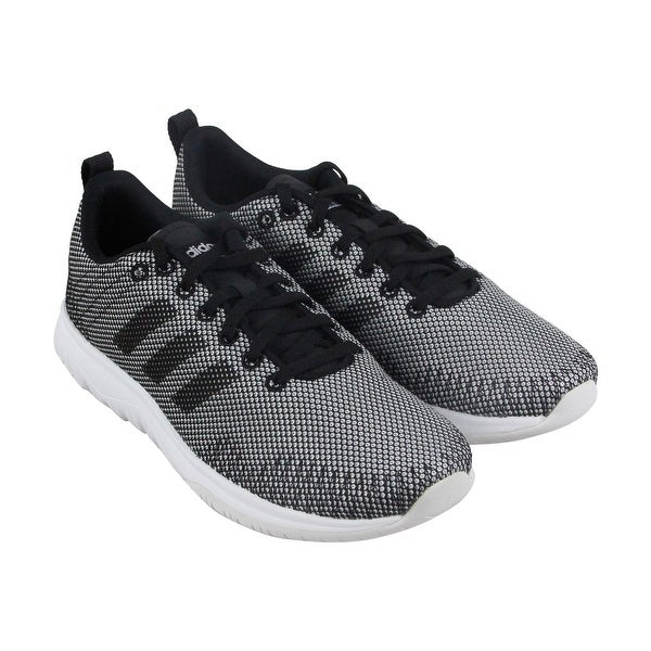 Adidas Cf Superflex Womens Gray Textile Athletic Lace Up Running Shoes