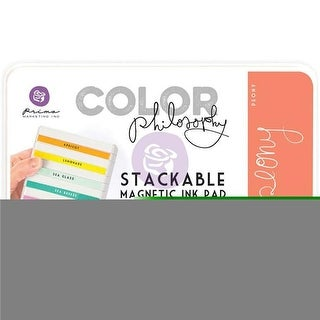 Prima Marketing CPDIP-89226 Color Philosophy Dye Ink Pad, Peony