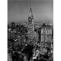 ''Chrysler Building'' by Henri Silberman New York Art Print (19.75 x 15.75 in.)