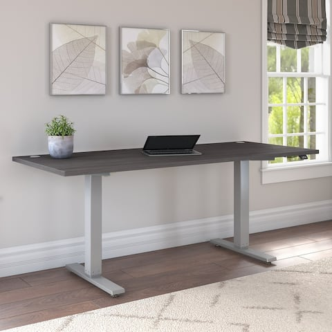 Cabot 72W x 30D Electric Height Adjustable Standing Desk by Bush Furniture