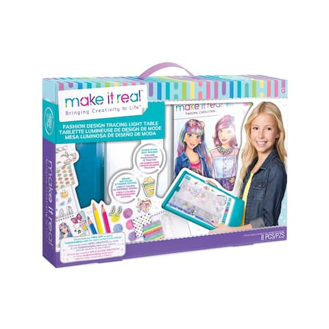 Fashion Design Mega Set w Light Table - Blue - medium