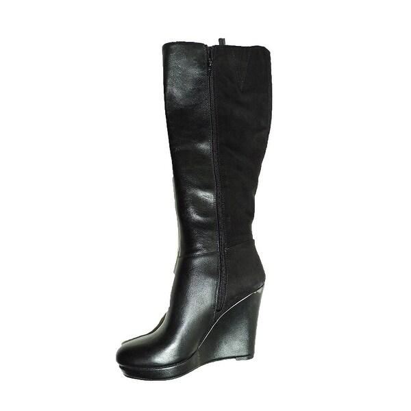 Bar III Womens Tristan Leather Closed Toe Knee High Fashion Boots