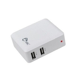 Siig Ac-Pw0k12-S1 4.2A Usb Power Adapter  2-Port (White)