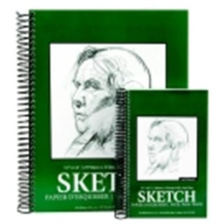 100 Percent Sulphite Spiral Binding Sketch Pad - 9 x 12 in. - 100