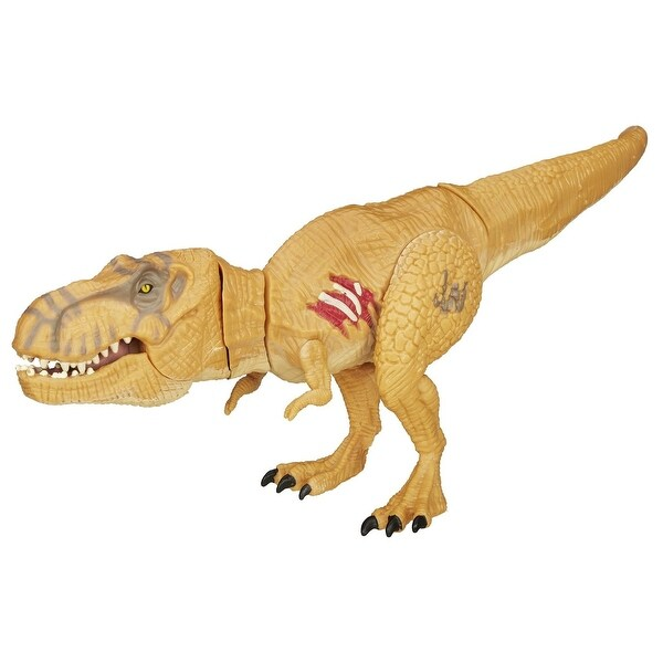 Jurassic World Bashers & Biters Figure: Tyrannosaurus Rex (Brown) - multi