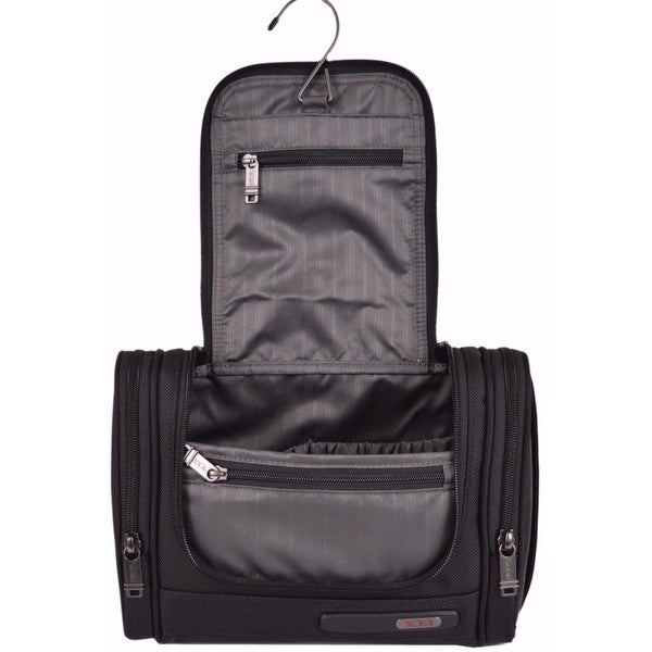 a89e99d6e366 Shop Tumi 223191 Men s Black FXT Nylon Hanging Toiletry Travel Case Bag  Luggage - Free Shipping Today - Overstock - 12671575