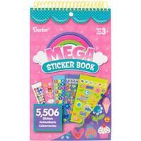 """Girl 5;506/Pkg - Mega Sticker Book 9.5""""X6"""""""
