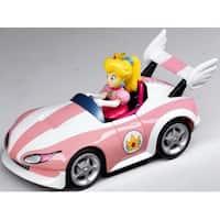 Super Mario Brothers Nintendo Wii Pull And Speed Kart Peach - Multi