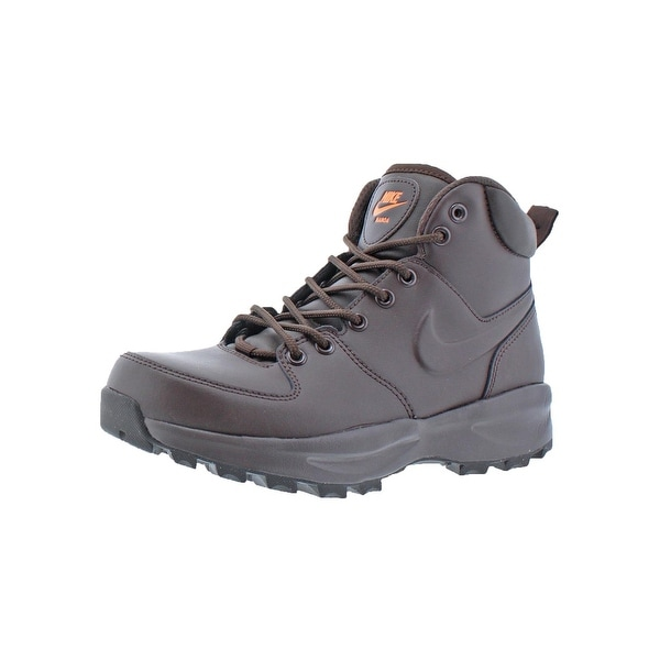 Shop Nike Mens Manoa Leather Ankle Boots Lace-Up Casual - 6.5 medium ... ec99b5fb8d7