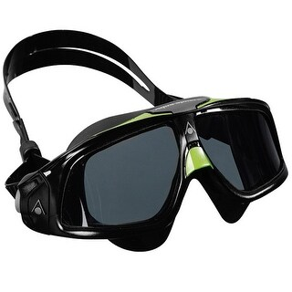 Aqua Sphere Seal 2.0 Smoke Lens Swim Mask - Black/Green