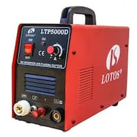 Lotos Technology LTP5000D 50 Amps Dual Voltage Pliot Arc Plasma Cutter